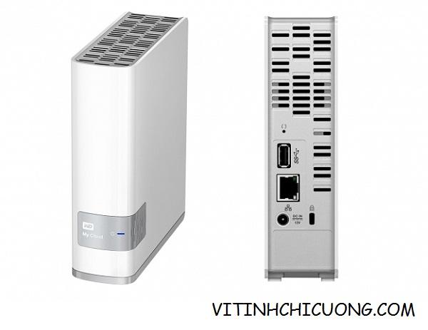 Ổ cứng WD My Cloud - 4TB  WDBCTL0040HWT-SESN