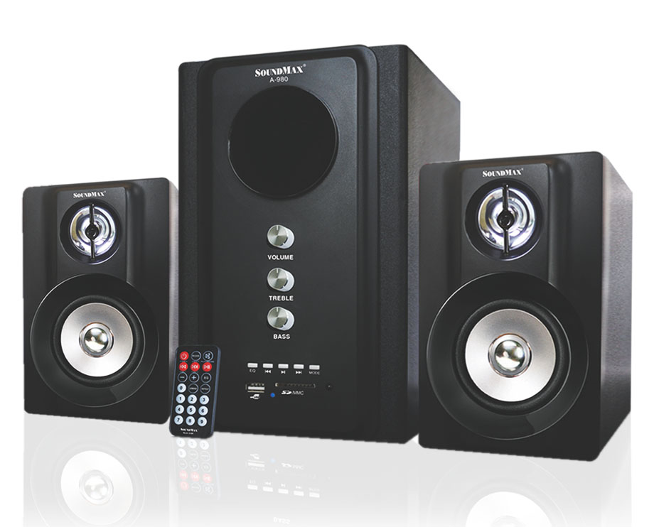 Loa Soundmax A 980/2.1 kênh, USB, Thẻ nhớ, Bluetooth