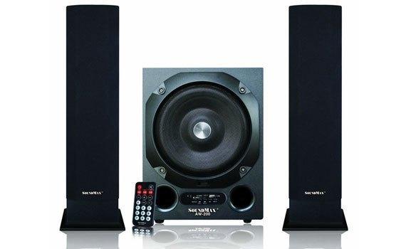 Loa Soundmax AW 200 / 2.1 kênh, USB, Thẻ nhớ