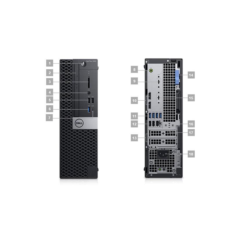 Máy Bộ Dell OptiPlex 5060 SFF 42OT560001 i5 8400/4GB/1TB/DVDRW/K+M/DOS