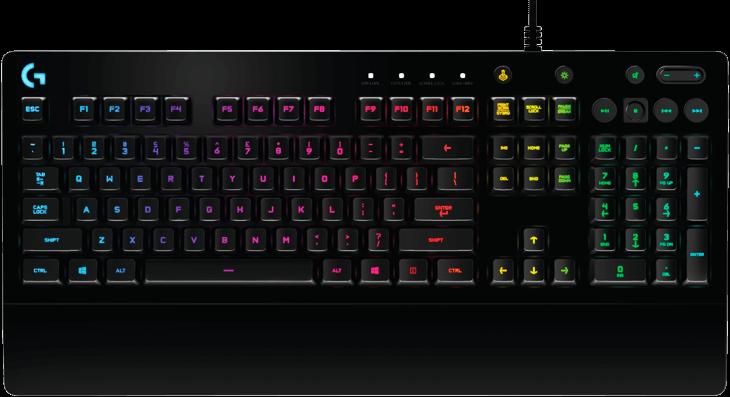 BÀN PHÍM LOGITECH G213 Prodigy RGB Gaming Keyboard