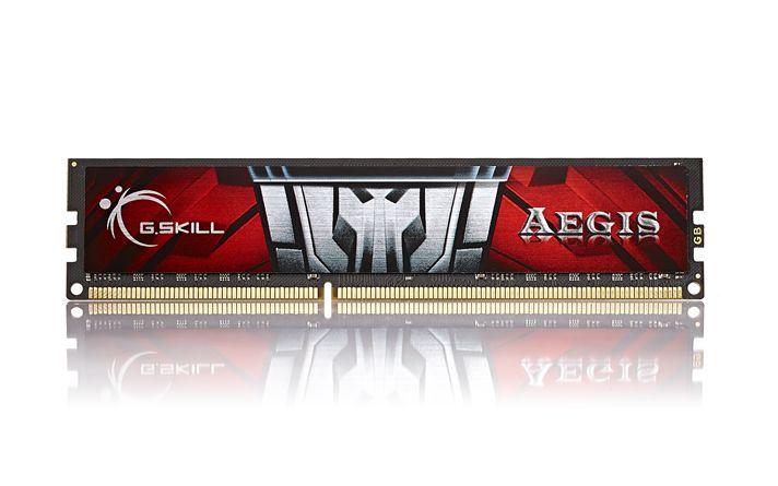 Ram PC GSKill DDR4 8GB bus 2400  AEGIS - F4-2400C17S-8GIS