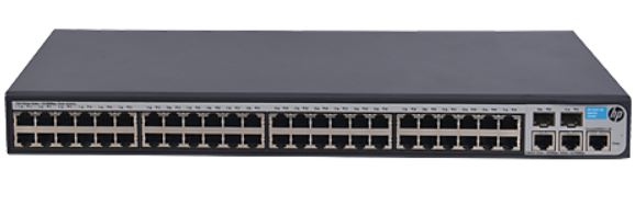 HP 1910-48 Switch  JG540A - 10/100Mbps MANAGED SWITCH L2/L3
