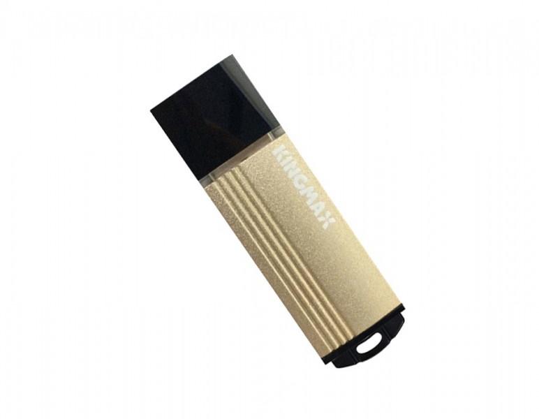Ổ cứng di động/ USB Kingmax 8GB MA-06 (Đen, Vàng,  USB 2.0)