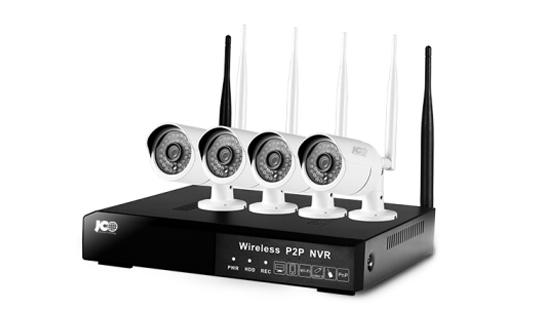 BỘ ĐẦU GHI NVR IP WIFI 4 KÊNH + 4 CAM IP WIFI 1.3M - JG-QN-0401-TW-A17/ B17
