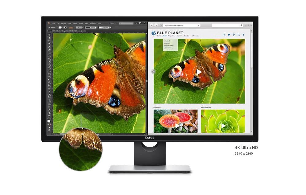 Màn hình máy tính Dell 28 inch Ultra HD 4K - S2817Q