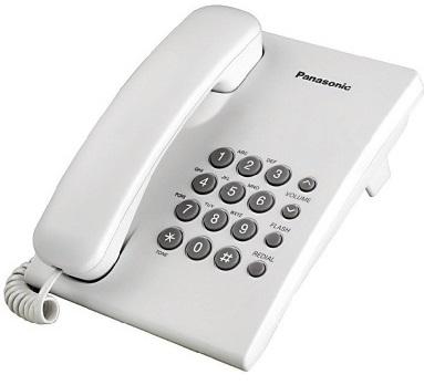 điện thoại bàn panasonic kx- ts500 xám