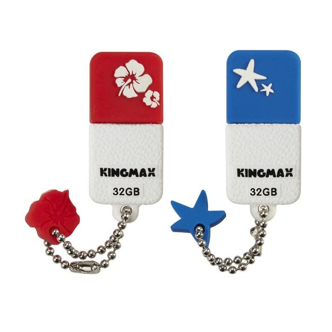 Ổ cứng di động/ USB Kingmax 32GB UI-01 (Trắng xanh, trắng đỏ, USB 2.0)