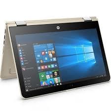 laptop HP   Pavilion x360 11-u104TU Z1E19PA - Gold I3