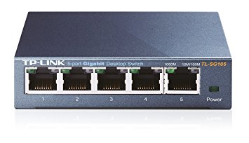 SWITCH TP-LINK -Unmanaged Pure-Gigabit Switch - TL-SG105