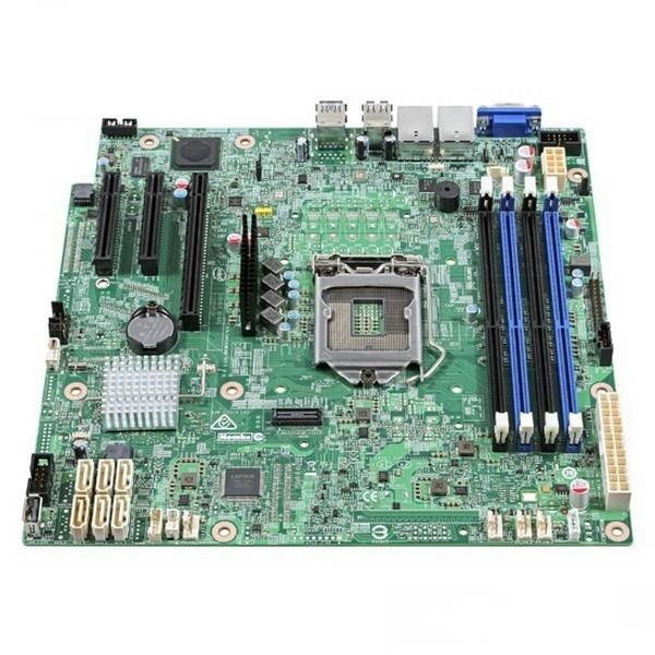 Main Intel DBS1200SPSR (Chipset Intel C232/ Socket LGA1151/ VGA onboard)