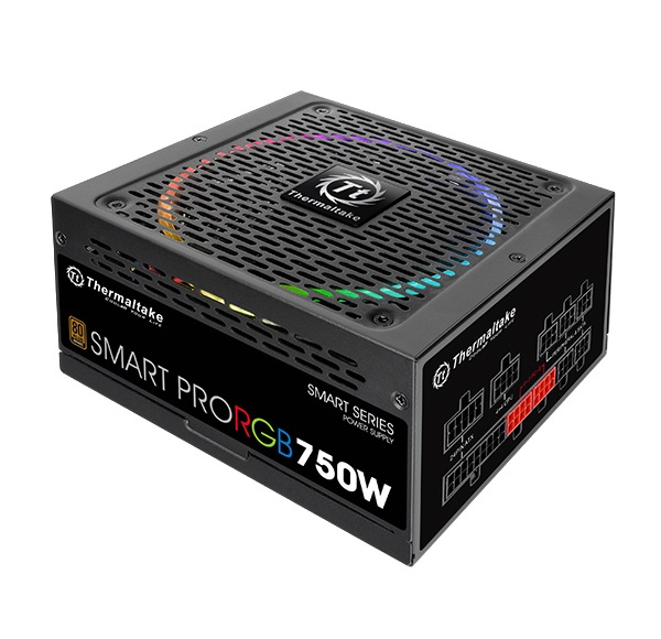 Nguồn THERMALTAKE Smart Pro RGB 750W Bronze (PS-SPR-0750FPCBEU-R)