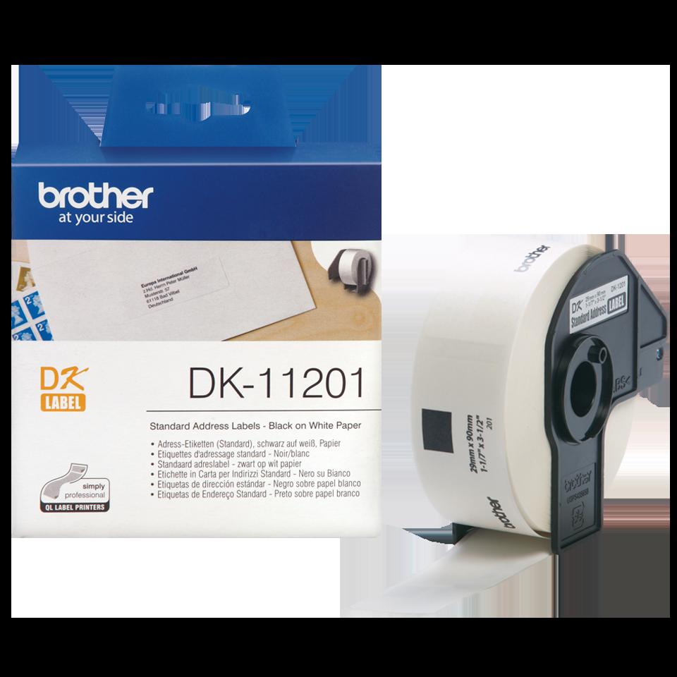 Vật tư in nhãn Brother DK11201