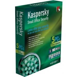 PM Kaspersky Small office Security 1 file server + 5 PCs
