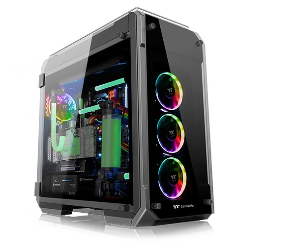 Thùng Case THERMALTAKE View 71 Tempered Glass RGB Edition (CA-1I7-00F1WN-01)
