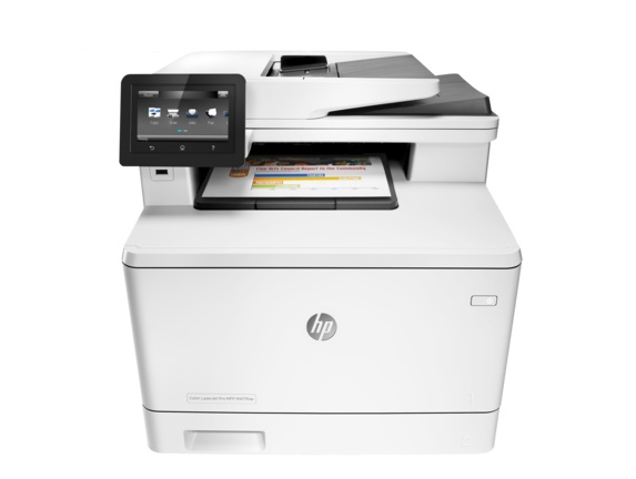 Máy in HP Color LaserJet Pro MFP M477FNW Printer ( in, scan, copy, fax, email)