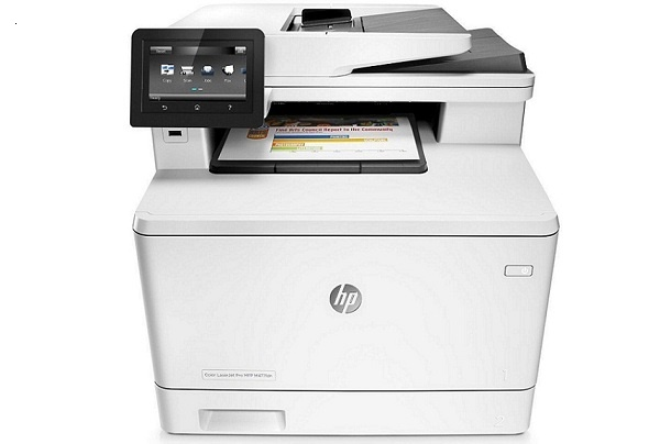 Máy in HP Color LaserJet Pro MFP M477FDN Printer ( in, scan, copy, fax, email) Duplex, Network