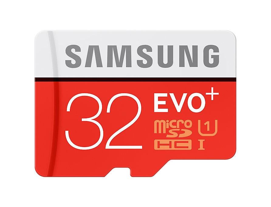 Thẻ nhớ MicroSD Samsung Evo plus - 32GB - Kèm Adapter MB-MC32DA/APC