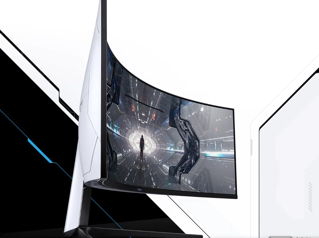Màn hình Samsung Odyssey G9 LC49G95TSSEXXV (49 inch/DualQHD/VA/240Hz/1ms/420nits/HDMI+DP+USB+Audio/G-Sync/Cong)