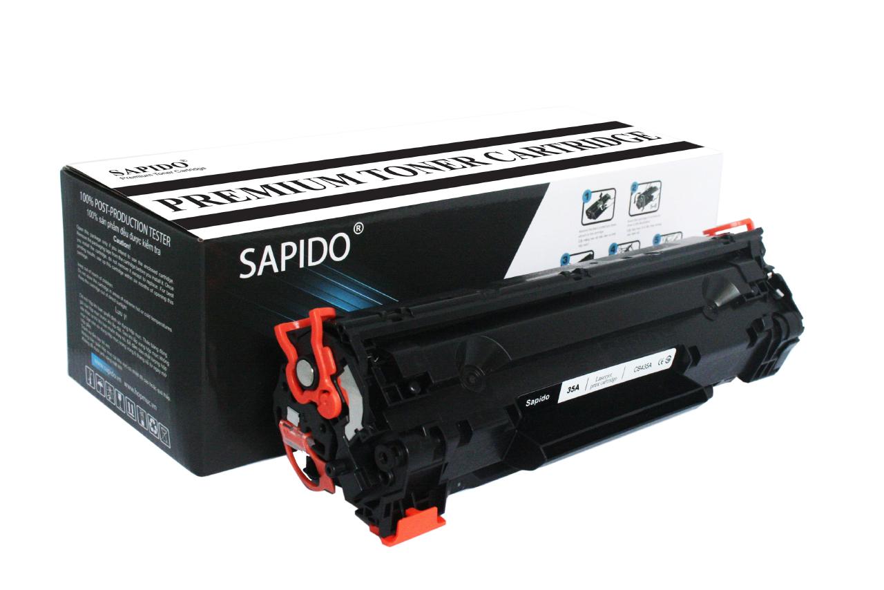 Mực máy in Sapido 35A (CE435A) DÙNG CHO MÁY HP P1002/P1003/P1004/P1005/P1006/P1009 Canon LBP- 3018/3010/3050/3020/3100 (1,500 trang)