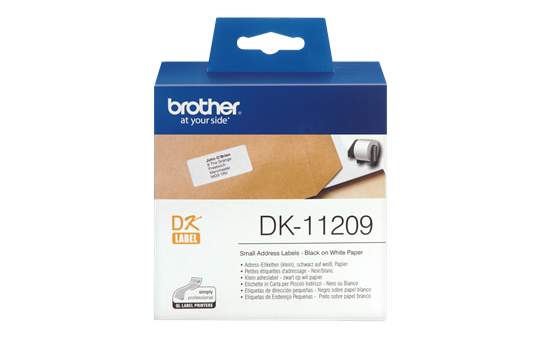 Vật tư in nhãn Brother DK11209