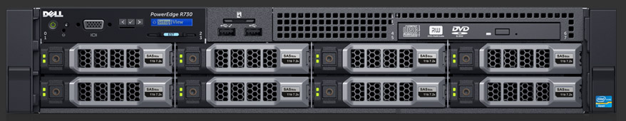 Máy chủ Dell PE R730XD E5-2620 v4/16gb RDIMM