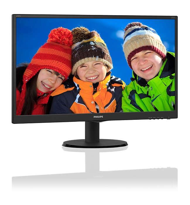 Màn hình LCD philips 240V5QDSB/74