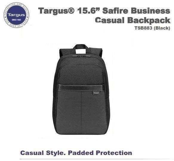 Balo Laptop Targus TSB883 Safire Business Casual Backpack 15.6 Inch Black - Hàng Chính Hãng