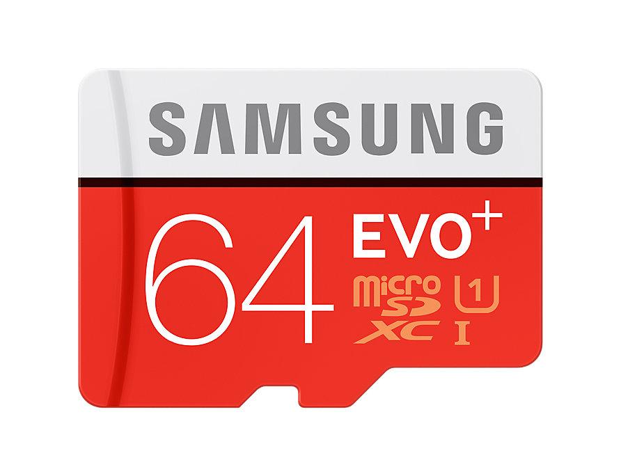 Thẻ nhớ MicroSD Samsung Evo plus - 64GB - Kèm Adapter MB-MC64DA/APC