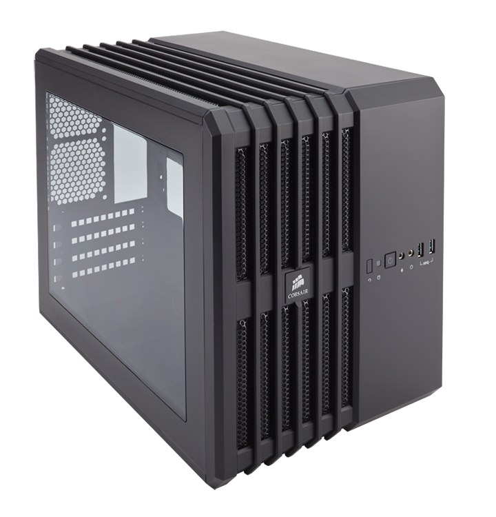 THÙNG CASE CORSAIR - Air 240 Black -  Case Mini - ITX - CC-9011070-WW