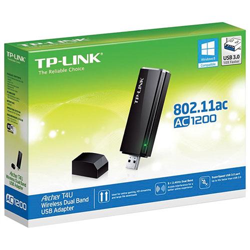 Wireless USB Adapter - Bộ chuyển đổi USB Không dây Băng tần kép AC1200 - Archer T4U