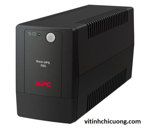 BỘ LƯU ĐIỆN APC BX650LI-MS 650VA UPS - BX650LI-MS - DÒNG APC BACK-UPS (CHO MÁY DESKTOP)