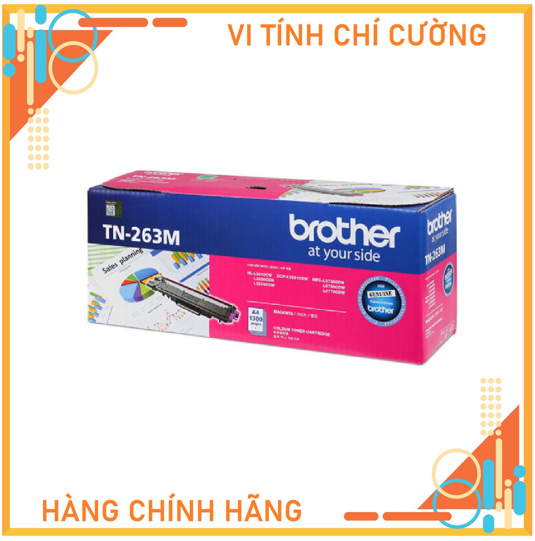 Mực in Brother TN-261M màu hồng dùng cho HL-3150CDN/3170CDW/ MFC-9140CDN/9330CDW