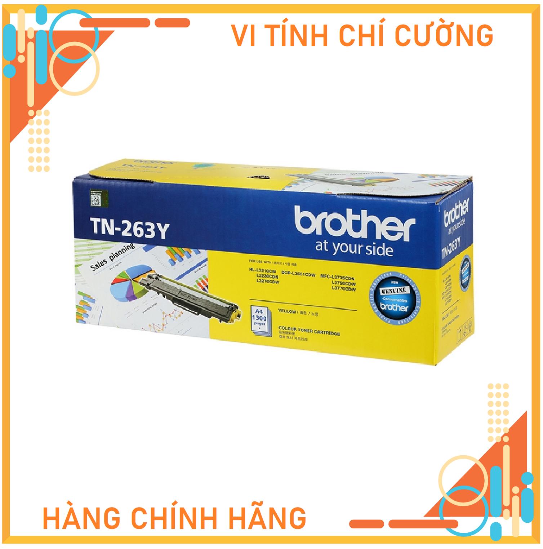 Mực in Brother TN-261Y màu vàng dùng cho HL-3150CDN/3170CDW/ MFC-9140CDN/9330CDW