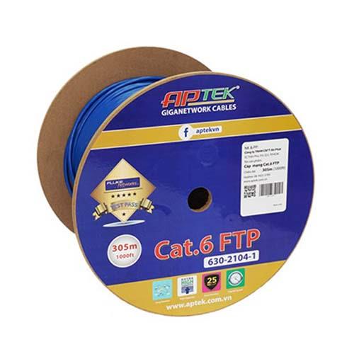 Cáp mạng APTEK CAT.6 FTP 305m -  630-2104-1