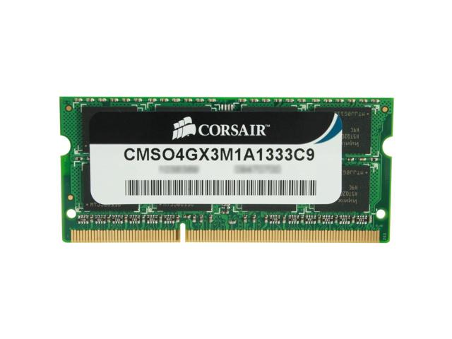 RAM LAPTOP CORSAIR 4GB Bus 1333 DDR3 - CMSO4GX3M1A1333C9