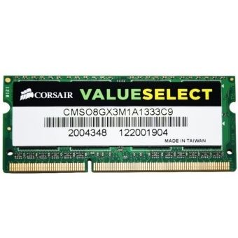 RAM LAPTOP CORSAIR 8gb bus 1333 DDR3 - CMSO8GX3M1A1333C9