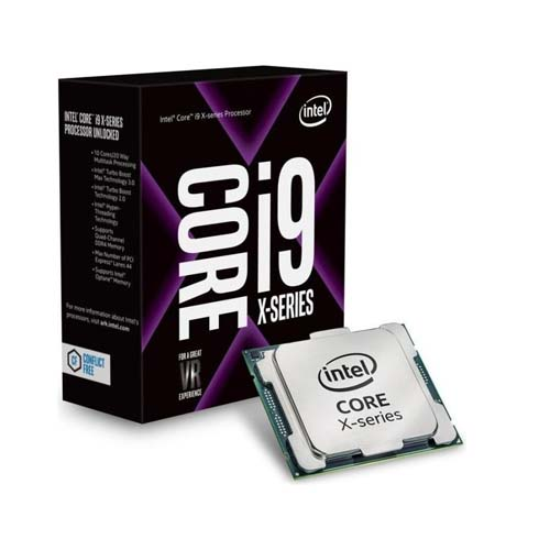 CPU Intel Core i9-9820X (3.3 Upto 4.1GHz/ 10 nhân 20 luồng/ LGA2066 Coffee Lake/ 16.5MB)