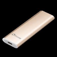 SSD PLEXTOR 128GB External USB 3.1 Gen2 Type C -  EX1 128