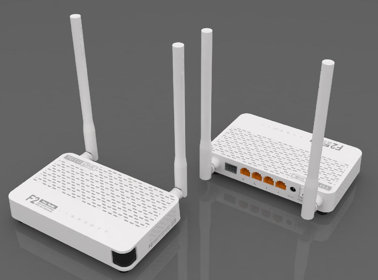 Bộ phát wifi TotoLink F2 - có cổng quang trực tiếp