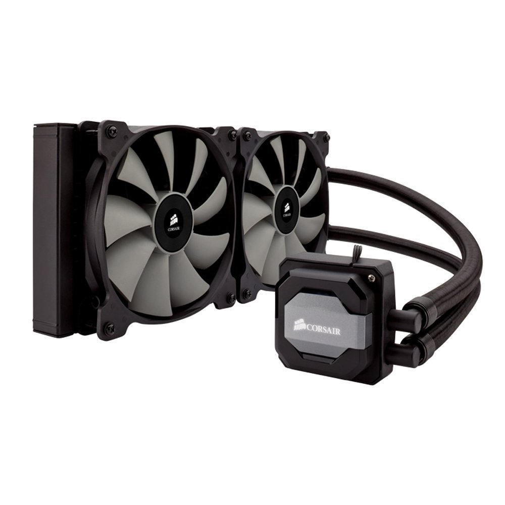 FAN FOR CPU CORSAIR - CPU Hydro Cooler H115i PRO- 280mm - Dual - TẢI NHIỆT NƯỚC - CW-9060027-WW
