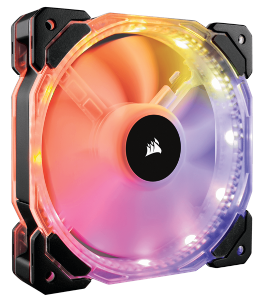 FAN FOR CPU CORSAIR - FAN HD 120 RGB LED - Hộp 1 FAN - CO-9050065-WW