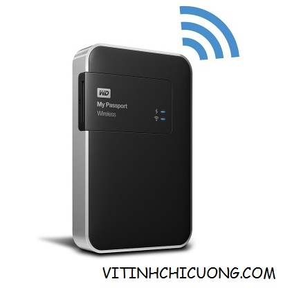 Ổ cứng Di Động WD My Passport Wireless - 1TB  WDBK8Z0010BBK-PESN