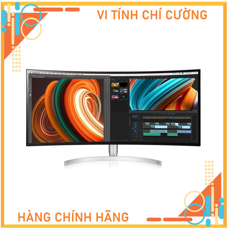 Màn hình LG 34WK95C-W (34 inch/2K/NanoIPS/75Hz/5ms/400 nits/HDMI+DP+USB-C/Cong)