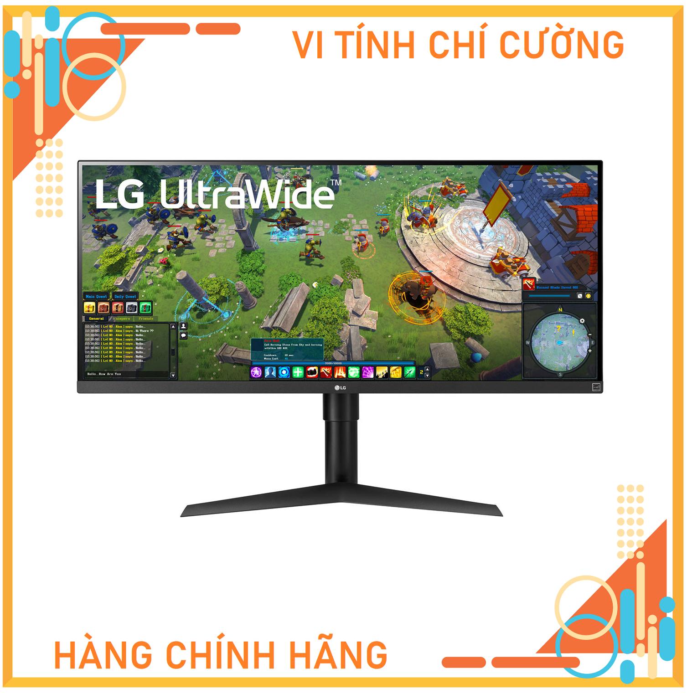 Màn hình LG 34WP65G-B (34inch/WFHD/IPS/75Hz/5ms/400nits/HDMI+DP+USBC+Audio/FreeSync)