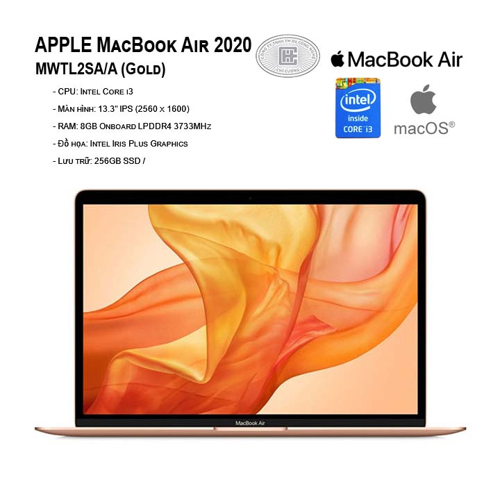 APPLE MacBook Air 2020 MWTL2SA/A (Gold)