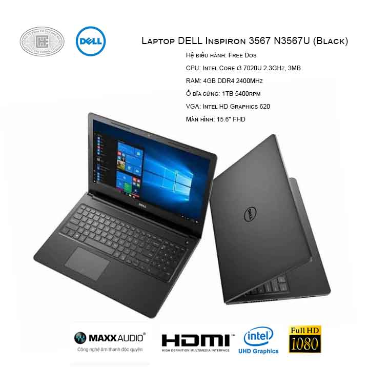 Laptop Dell Inspiron 3567-N3567U