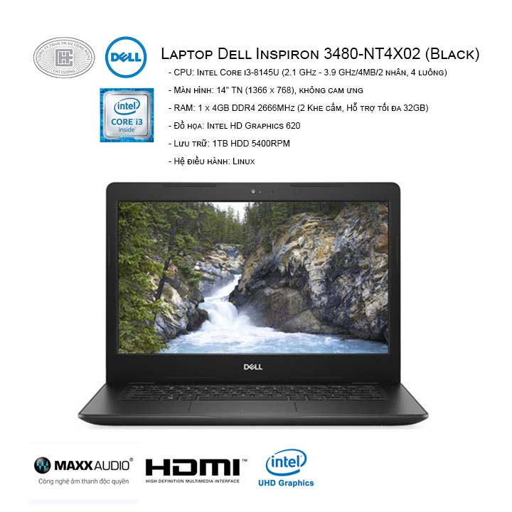 Laptop Dell Inspiron 14 3480-NT4X02 (14