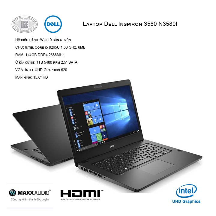 Laptop Dell Inspiron 3580 N3580I