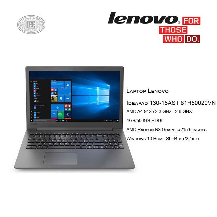Laptop Lenovo Ideapad 130-15AST 81H50020VN(15.6